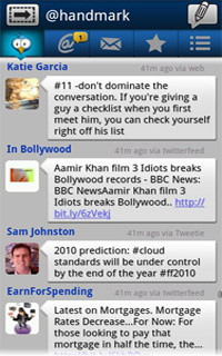Nexus One Android an Droid Apps 2Day: TweetCaster Free for a Tweet