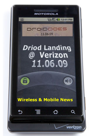 Droid News 2Day: Verizon Droid Invasion 11/6 HTC Droid Eris Joining Droid Forces