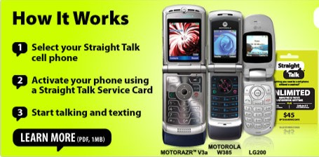 Straight Talkers Go Straight to Walmart for $45 Unlimited Txt, Web & Min.