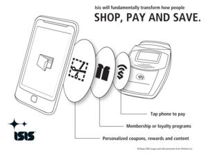 Mobile Payments by ISIS Coming to Verizon, T Mobile & AT&T