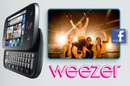 Android Invasion: CLIQ Lands @ T Mobile with Uni Weezer Contest