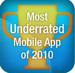 App Contest Deadline Approaching, Most Underrated App of 2010, 12/31