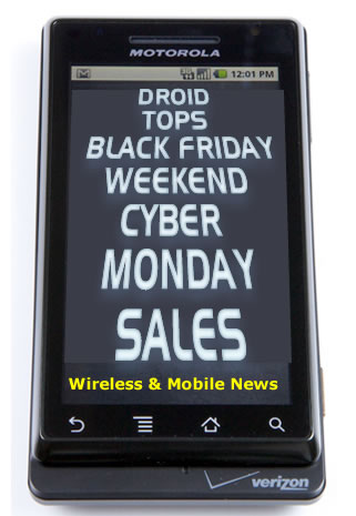 Droid Tops Record Black Friday/Weekend Cyber Monday Sales, Says Simplexity