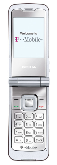 Nokia 7510 Wi Fi Flip Phone Displays Light Show 