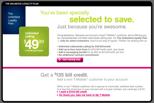 T Mobile Unlimited Plans Will Boost Keeping Customers?