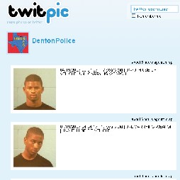 TwitPic Tweets Pics and Data on Jail Birds in Denton Texas