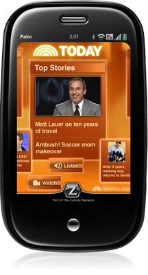 Free Palm Pre Apps of the Day: Today Show and Sporting News Baseball