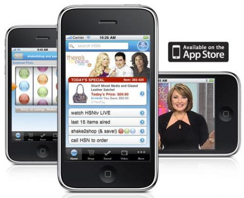 HSN launched an Apple iPhone app to view HSN programming 24 hours a ...