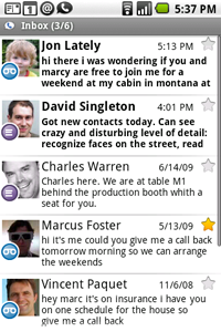BlackBerry and Android Apps 2Day Google Voice for Mobile NO iPhone App
