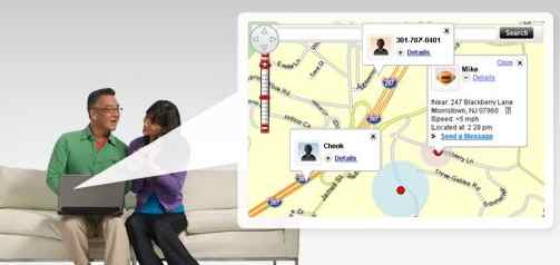 Verizon Updates Chaperone to Family Locator Service: Finds Family Members
