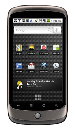 Nexus One,NexusOne,G1,Android,Phone,Google,3G,Gone,G One,GPhone,G Phone,Google Phone,Googlephone,Nexus One Technical specifications,Nexus One caracteristiques,Specifications,mobile,phones,actualite,tests,fiche technique,tactile,touch,prix