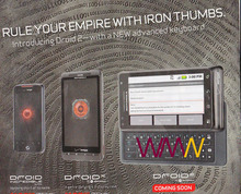 Droid 2 Official Soon $199 w/Contract w/o $599   Droid Classic Sold Out Incredible 8/10 Ship & Droid X 8/25 Ship