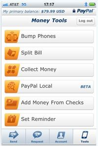 Mo Mobile Features from PayPal   Mobile Express Checkout, Library and iPhone Locations