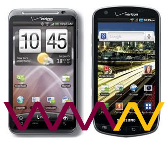 Dare 2 Compare: Samsung Droid Charge vs HTC ThunderBolt