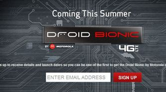 Droid News: VZW Droid Bionic Summer Release Date Teased