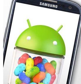 Samsung Galaxy S Jelly Bean Update