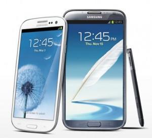 Samsung Galaxy Note 2 vs S3