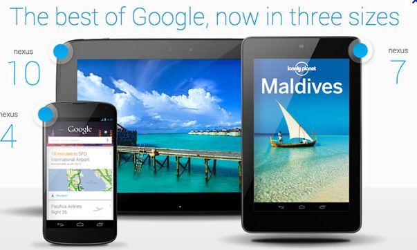 Best of Google Nexus 4, 7 10