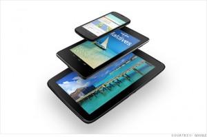Google Nexus 4, 7, 10