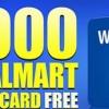Walmart Gift car