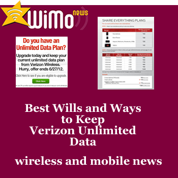 How to Keep Verizon Unlimited Data Plans