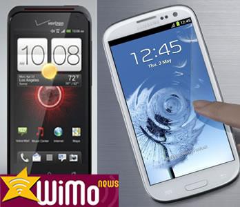Droid Incredible 4G LTE vs Samsung Galaxy S3