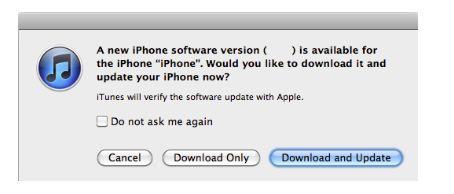 iPhone iOS 6.1 update