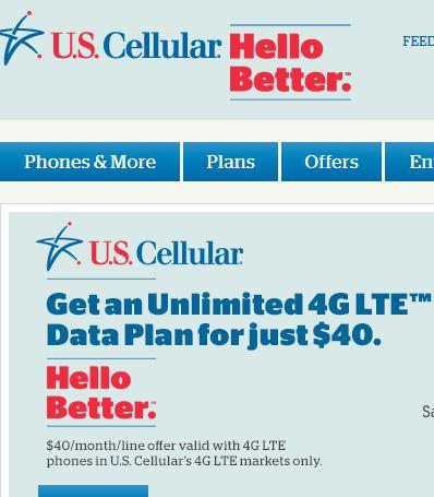 U.S. Celluar Unlimited Data Deal