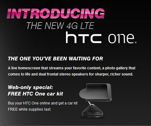T-mobile HTC One