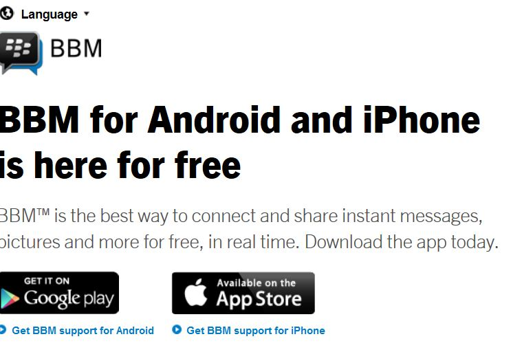 BlackBerry Messenger for iPhone & Android